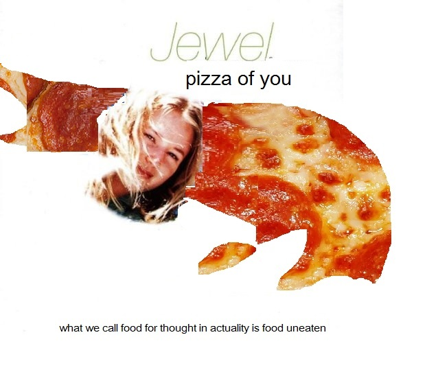Album cover parody of Pieces of You by Jewel