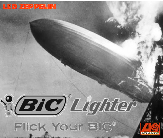Album cover parody of Led Zeppelin (Remastered) by Led Zeppelin