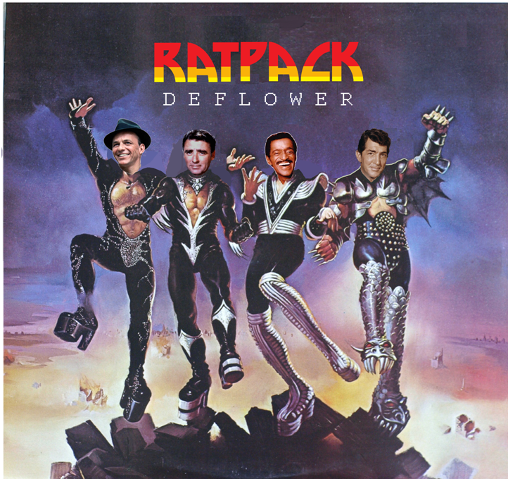 Album cover parody of Destroyer by Kiss