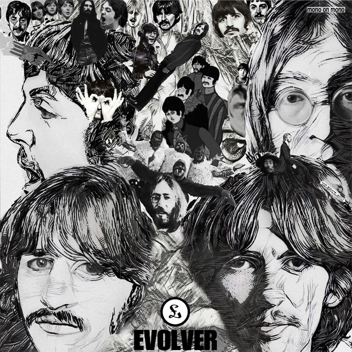 Album cover parody of Revolver [Mono LP] by The Beatles by Beatles